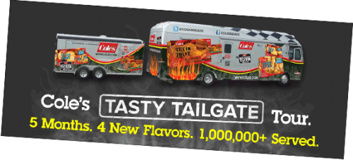 Cole's Tasty Tailgate Tour